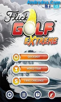Скачать Flick Golf Extreme android
