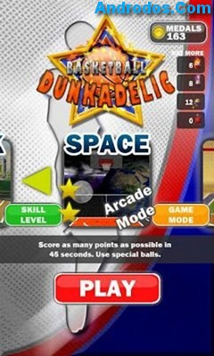 Скачать Basketball Dunkadelic android
