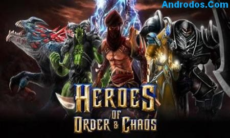 Скачать Heroes of Order & Chaos android