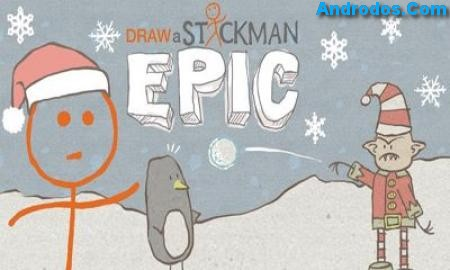 Скачать Draw a Stickman EPIC android