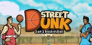 Скачать Street Dunk 3 on 3 Basketball на адроид