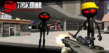 Скачать Stickman Shooter 3D для андроид