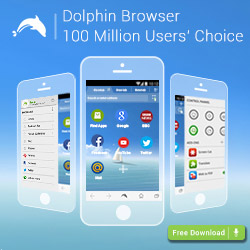 Скачать Dolphin Browser для android