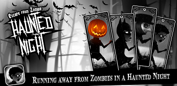 Haunted Night - Running Game на андроид