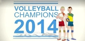 Скачать Volleyball Champions 3D 2014 на андроид